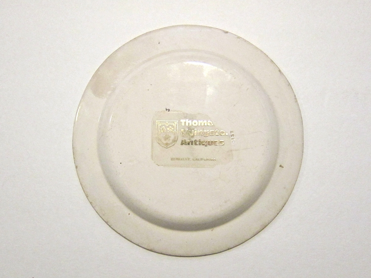 choisy le roi antique creamware daphnis and cabinet plate