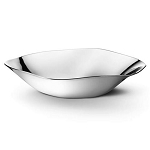 Georg Jensen Liquid Stainless Steel Silver Bowl, Medium