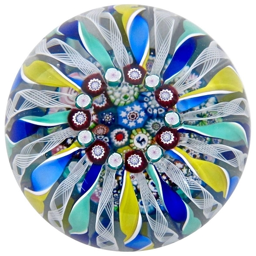 John Deacons Magnum Porthole Glass Paperweight, 2011