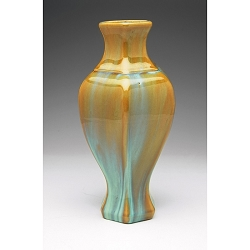 Fulper Pottery Flambe Glaze Vase, Form 660