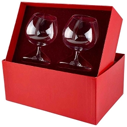 Baccarat Crystal Perfection Balloon Brandy Snifter Pair