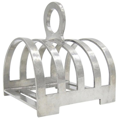 William Hair Haseler Tudric Pewter Toast Rack for Liberty & Co.