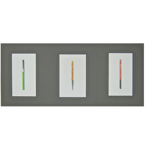 Original Jerome Gould Mixed Media Design Drawings, Set of 3
